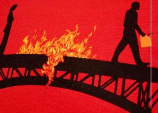 The Man Who Burnt Bridges